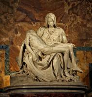 Микеланджело Буонарроти. Пьета (Оплакивание Христа)