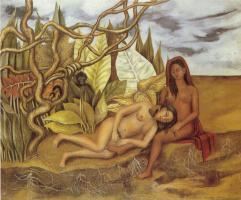 Фрида Кало. Две обнаженные в лесу