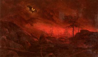 Ральф Альберт Блакелокк. Лесной пожар