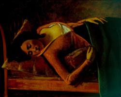 Бальтюс (Бальтазар Клоссовски де Рола). Спящая девушка