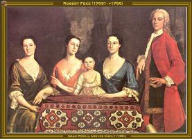 Роберт Фек. Исаак и его семья
