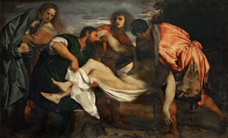Titian Vecelli. Entombment