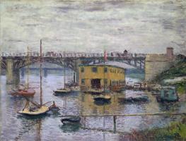 Клод Моне. Мост в Аржантее в серый день