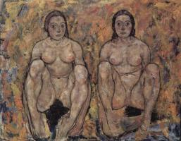 Эгон Шиле. Сидящие женщины