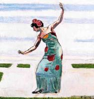 Фердинанд Ходлер. Танцующая женщина