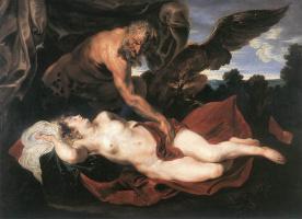 Anthony van Dyck. Jupiter and Antiope