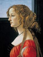 Sandro Botticelli. Simonetta Vespucci