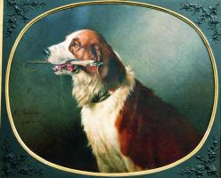 Nikolay Egorovich Sverchkov. Dog. 1881