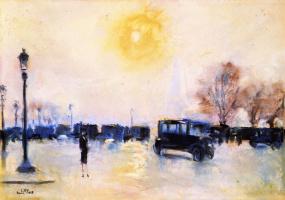 Лессер Ури. Париж. Восход
