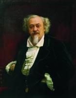 Ivan Nikolayevich Kramskoy. Portrait of the actor Vasily Samoilov