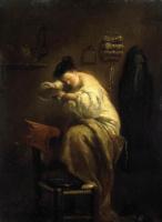 Джузеппе Мариа Креспи. Женщина, ищущая блох