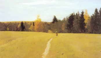 Valentin Aleksandrovich Serov. Autumn. Domotkanovo