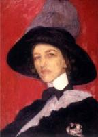 Елизавета Сергеевна Кругликова. Автопортрет.  1910