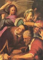 Рембрандт Ван Рейн. Изгнание торгующих из храма