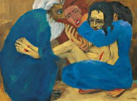 Эмиль Нольде. Погребение Христа