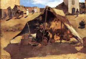Тео ван Рейссельберге. Марокканский рынок