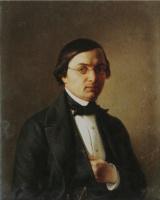 Михаил Иванович Скотти. «Портрет архитектора Р.И.Кузьмина» 1849