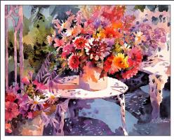 Маргарет Мартин. Цветы