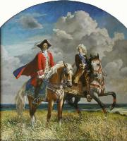 Yuri Nikolayevich Pantsyrev. Peter I and Menshikov