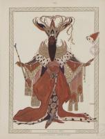 Lev Samoilovich Bakst (Leon Bakst). Costume design for Potiphar in the ballet The Legend of Joseph