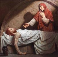 Гелий Михайлович Коржев. Мария в пещере
