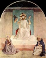 Фра Беато Анджелико. Осмеяние Христа. Фреска монастыря Сан Марко, Флоренция