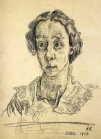 Оскар Кокошка. Портрет женщины