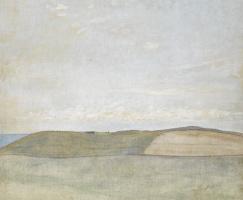 Вильгельм Хаммерсхёй. Пейзаж. Полуостров Рёснес