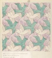 Maurits Cornelis Escher. Three Birds (No. 28)