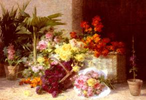 Андре Перрачон. Цветы