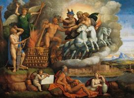 Benvenuto Tizi yes Garofalo. The Apotheosis Of Hercules