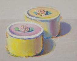 Wayne Thibaut. Two cake