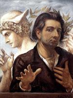 Джорджо де Кирико. Автопортрет с головой Меркурия