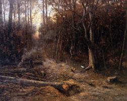 Хендрик Виллем Месдаг. В лесу