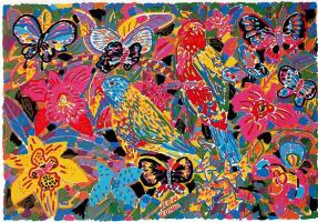 Кен Дан. Разноцветные бабочки