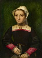 Катарина ван Хемессен. Дама с Розария