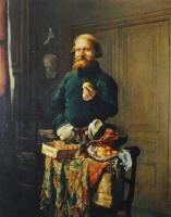 Валерий Иванович Якоби. «Разносчик» 1858