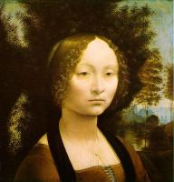 Леонардо да Винчи. Портрет Джиневры Бенчи