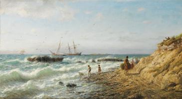 Lev Feliksovich Lagorio. Shore of the Black sea