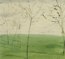 Константин Андреевич Сомов. Spring landscape