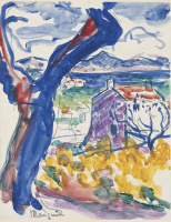 Henri Manguin. The view of the Bay of Saint-Tropez