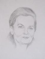 Иван Александрович Долгоруков. Портрет выполнен мною в карандаше.