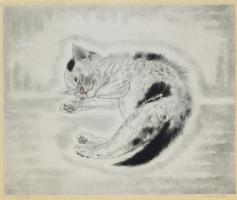 Цугухару Фудзита ( Леонар Фужита ). Kitty
