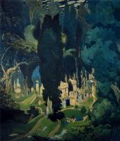 Lev Samoilovich Bakst (Leon Bakst). Elysium. Decorative panel