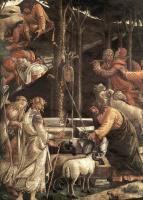 Сандро Боттичелли. Призвание Моисея (фрагмент)