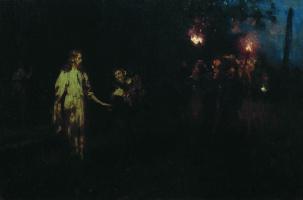 Илья Ефимович Репин. Христос в Гефсиманском саду