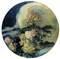 Михаил Александрович Врубель. Желтые розы