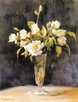 Франсиско Себастьян. Белые цветы