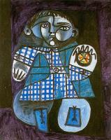 Пабло Пикассо. Клод с мячом