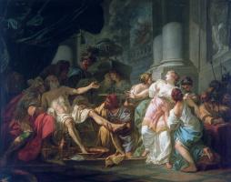 Jacques-Louis David. The Death Of Seneca